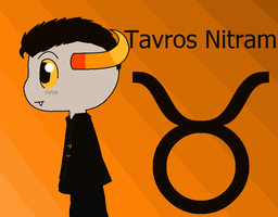 Tavros Nitram by Noulin123