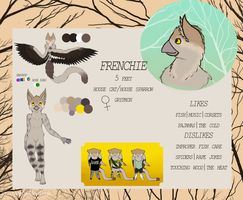 Frenchiegryph ref 2014 by Frozenheart236
