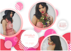 Png pack 025 // Angela Torres by BeingPngs