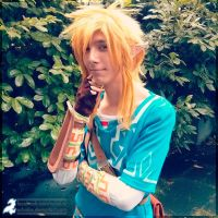 Link from Zelda Wii U preview from AnimagiC by Echolox