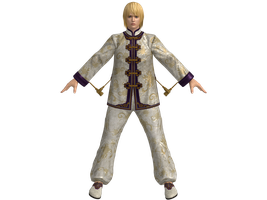 DOA5U Eliot White Chinese outfit by zareef