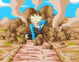 Trunks future by Sersiso