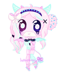 [CHIBI] - cthonicsquid by hello-planet-chan