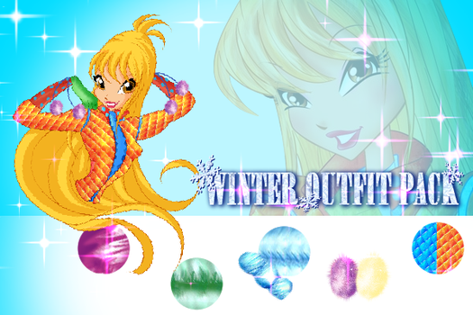::PAID PACK:: Winter outfit pack by MiaEnchantedFairy