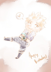 Sting doodle for Aya's birthday by shadoouge