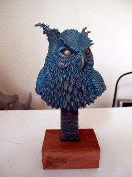 Owl Bust by Thomasotom