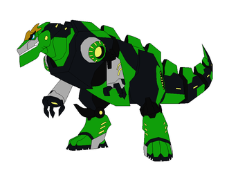 Grimlock in some boots by star153