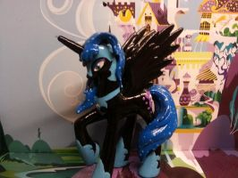 Commission: Nightmare moon by balthazar147