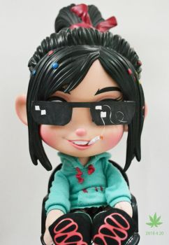 Happy 420 Day! - Vanellope toy by summilly