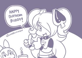 Happy birthday from Tabby by LinkerLuis