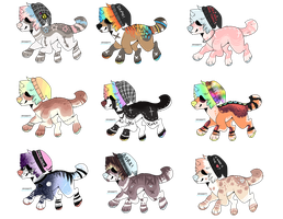 Beanie dog adopts - CLOSED by ChubbDogg