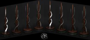 Special Wand No. 5 ''The Seedling'' by SRG-Wands