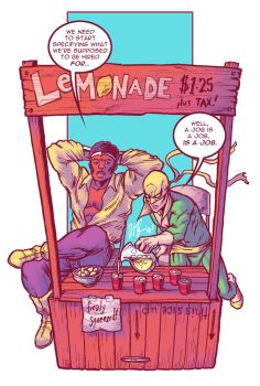 Lemonade Makers For Hire by dio-03