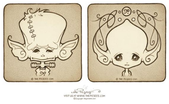 Mika Macaroon's wee Inkypics by thePicSees