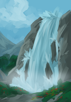 Water Fall by Know-Kname