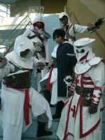 Generations and A Templar by MillyAuditore