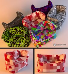 Free Bag Chair Download by LuxXeon
