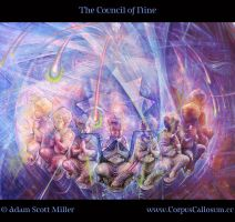 The Council of Nine by Adam-Scott-Miller