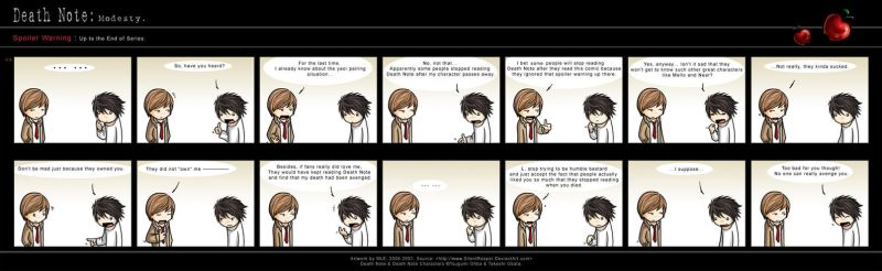 Death Note: Modesty. by eychanchan