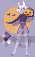 Halloween adopt auction! by catteenager