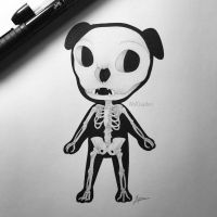 Skeletal KK Slider by WolfJayden
