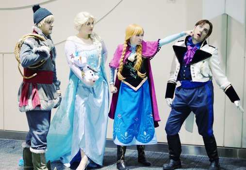 The Only Frozen Heart here is you! by tangledinthread