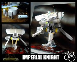 How I built the Imperial Knight by JDHerring