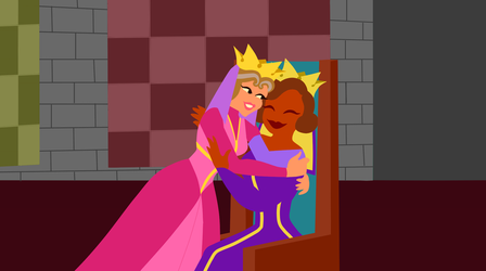 EudoraxLeah: Queenly Relations by CancerSyndromEdits