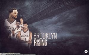 Brooklyn Nets Wallpaper by IshaanMishra