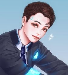 Connor (Detroit: Become Human) by renaillusion