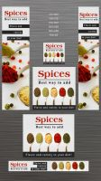 Free  Spices Banners by isfahangraphic