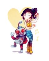 Robot Dance by flyk