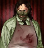 Leatherface by LoraLindemann