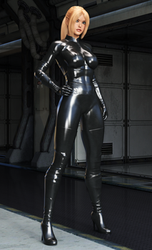 Nina Williams - Black Bodysuit by FatalHolds