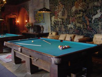 Hearst Castle Pool Table by StockWolfwood