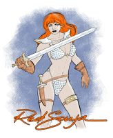 Red Sonja 2 by ChristineAltese