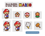 Paper Mario by Hama-Girl