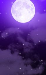 FREE: Moon and Cloud Background by Magical-Mama