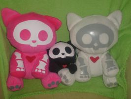My skelanimals by catwoman09