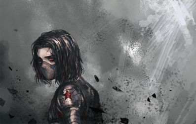 Winter Soldier by MELLORIA358
