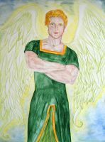 Angelic Guard by Tricia-Danby