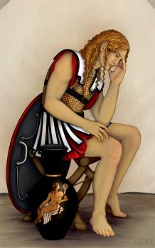 Grieving Achilles by gpalmer