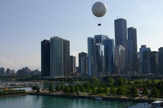 Chicago from Navy Pier by JBittle