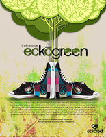 EckoRed Environmental Ad Campaign PLATE by ffdiaries958