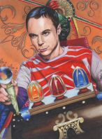 Sheldon and The Time Machine by fionabird