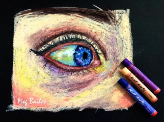 Eye Study 1 by MegBailes