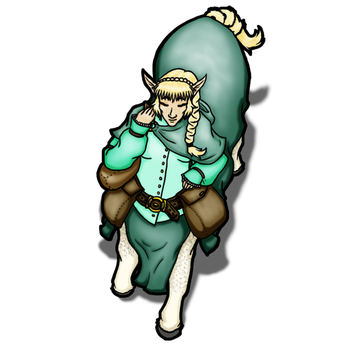 Dungeons and Dragons 5e Token - Centaur - Courier by Shenorai