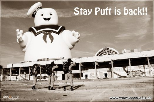 Stay Puft is back! by kathy1602