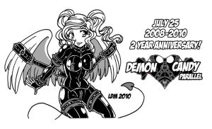 2 YEAR ANNIVERSARY DC:P by Lorddragonmaster