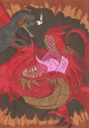 Critical Role - The Fall of the Cinder King by Tyrannuss555